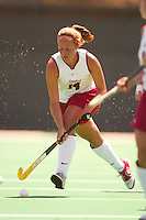 27 August 2005: Julia Drewes during Stanford's 2-1 overtime loss to Miami (Ohio) at the Varsity Turf Field in Stanford, CA.