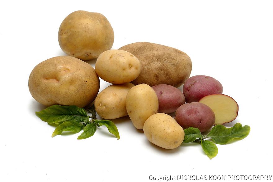 Potato still life.