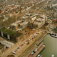 1991.  Tunnelplaats in Antwerpen.