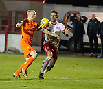 17.04.18 Brechin City v Dundee utd:<br /> Willo Flood and Callum Tapping