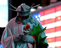 Statue of Libery New York City Time Square. Photo: Scott Grant
