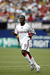 17 April 2004: Freddy Adu entered the game as a substitute in the 54th minute. The MetroStars defeated DC United 3-2 at Giants Stadium in East Rutherford, NJ during a regular season Major League Soccer game...