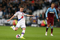 James McCarthy of Crystal Palace fires in a shot during West Ham United vs Crystal Palace, Premier League Football at The London Stadium on 5th October 2019