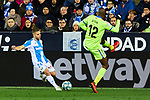 Kevin Rodrigues of CD Leganes and Allan-Romeo Nyom of Getafe FC during La Liga match between CD Leganes and Getafe CF at Butarque Stadium in Leganes, Spain. January 17, 2020. (ALTERPHOTOS/A. Perez Meca)