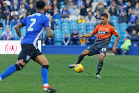 Kyle Naughton of Swansea City (R) in action during the Sky Bet Championship match between Sheffield Wednesday and Swansea City at Hillsborough Stadium, Sheffield, England, UK. Saturday 23 February 2019
