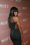 Kelly Rowland attends Moët & Chandon and Kelly Rowland debut the Rosé Lounge with an exclusive celebration for Kelly Rowland's new album Here I Am at The Standard Hotel, NY 7/26/11