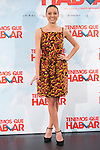 Spanish actress Michelle Jenner poses during `Tenemos que hablar´ film presentation in Madrid, Spain. February 24, 2016. (ALTERPHOTOS/Victor Blanco)