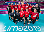 Lima, Peru -  28/August/2019 -  Canada takes the bronze medal in sitting volleyball at the Parapan Am Games in Lima, Peru. Photo: Dave Holland/Canadian Paralympic Committee.