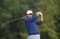 Tomas Gana of Team Chile on the 6th tee during Round 3 of the WATC 2018 - Eisenhower Trophy at Carton House, Maynooth, Co. Kildare on Friday 7th September 2018.<br /> Picture:  Thos Caffrey / www.golffile.ie<br /> <br /> All photo usage must carry mandatory copyright credit (&copy; Golffile | Thos Caffrey)