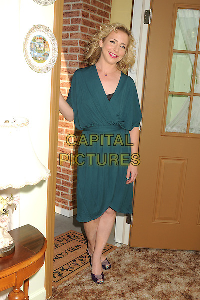 Alicia Goranson.Comedy Central Roast of Roseanne Barr held at the Hollywood Palladium, - Hollywood, California, USA, .4th August 2012..full length dress green .CAP/ADM/BP.©Byron Purvis/AdMedia/Capital Pictures.