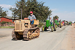 Annual fall Gas-Up at McFarland Ranch near Galt, Calif. of Branch 13, Early-Day Gas Engine and Tractor Association. (EDGE & TA)..late 1950s Oliver OC-4 crawler tractor