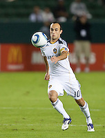 CARSON, CA - November 3, 2011: LA Galaxy forward Landon Donovan (10) during the match between LA Galaxy and NY Red Bulls at the Home Depot Center in Carson, California. Final score LA Galaxy 2, NY Red Bulls 1.