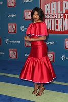 LOS ANGELES CA - NOVEMBER 5: Taraji P. Henson at the LA Premiere Of Ralph Breaks The Internet in Los Angeles, California on November 5, 2018. <br /> CAP/MPI/FS<br /> &copy;FS/MPI/Capital Pictures