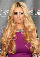 London - Chantelle Houghton at a photocall for 'Easilocks' Hair extensions at the Worx Studios, London - December 5th 2012..Photo by Keith Mayhew