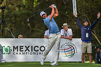 Brooks Koepka (USA) watches his tee shot on 16 during round 2 of the World Golf Championships, Mexico, Club De Golf Chapultepec, Mexico City, Mexico. 2/22/2019.<br /> Picture: Golffile | Ken Murray<br /> <br /> <br /> All photo usage must carry mandatory copyright credit (&copy; Golffile | Ken Murray)