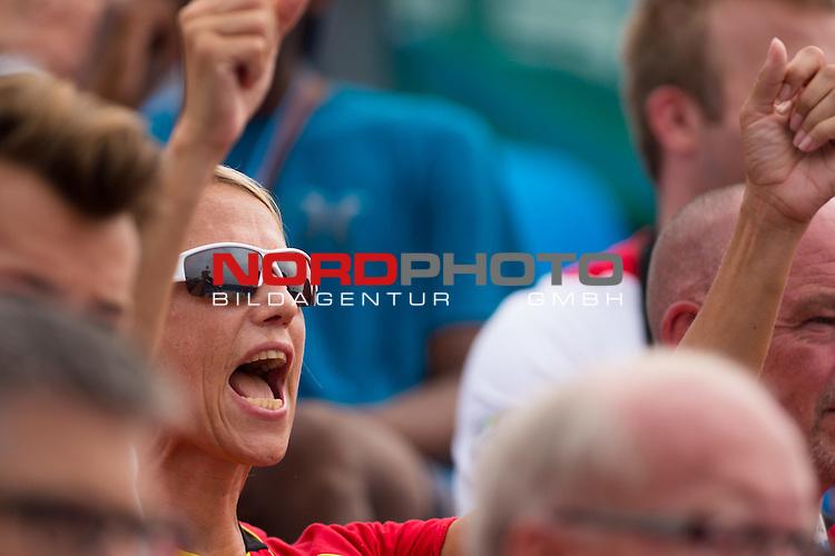 26.08.2014, Nanjing, Youth Olympic Sports Park<br /> Youth Olympic Games 2014, Halbfinale<br /> <br /> Silke L&uuml;dike / Luedike (Trainer / Coach GER)<br /> <br />   Foto &copy; nordphoto / Kurth