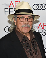 """14 November 2019 - Hollywood, California - Edward James Olmos. AFI FEST 2019 Presented By Audi – """"Queen & Slim"""" Premiere held at TCL Chinese Theatre. Photo Credit: Billy Bennight/AdMedia"""