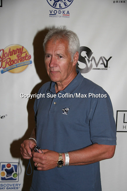 Alex Trebeck - Official Daytime Emmy Awards gifting Suite on June 26, 2010 during 37th Annual Daytime Emmy Awards at Las Vegas Hilton, Las Vegas, Nevada, USA. (Photo by Sue Coflin/Max Photos)