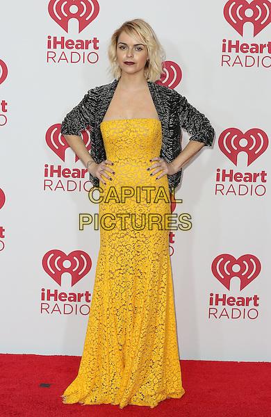 20 September 2014 - Las Vegas, Nevada - Taryn Manning. 2014 iHeart Radio Music Festival day 2 red carpet at MGM Grand Garden Arena.   <br /> CAP/ADM/MJT<br /> &copy; MJT/AdMedia/Capital Pictures