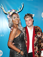 LOS ANGELES, CA - OCTOBER 27: Danielle E. Simmons, Matthew Herman, at UNICEF Next Generation Masquerade Ball Los Angeles 2017 At Clifton's Republic in Los Angeles, California on October 27, 2017. Credit: Faye Sadou/MediaPunch /NortePhoto.com