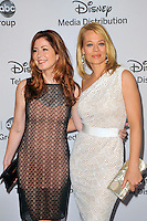 Dana Delaney and Jeri Ryan at the Disney Media Networks International Upfronts at Walt Disney Studios on May 20, 2012 in Burbank, California. © mpi35/MediaPunch Inc.