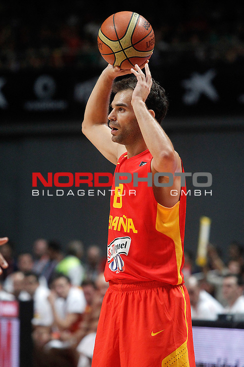 Spain's Jose Manuel Calderon during friendly match.August 23,2012. Foto © nph / Acero)
