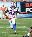 Buffalo Bills Duke Williams (27) during a game against the Chicago Bears on September 7, 2014 at Soldier Field in Chicago, IL. The Bills beat the Bears 23-20.