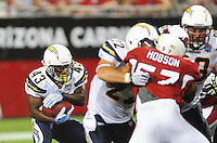 Aug. 22, 2009; Glendale, AZ, USA; San Diego Chargers running back (43) Darren Sproles against the Arizona Cardinals during a preseason game at University of Phoenix Stadium. Mandatory Credit: Mark J. Rebilas-