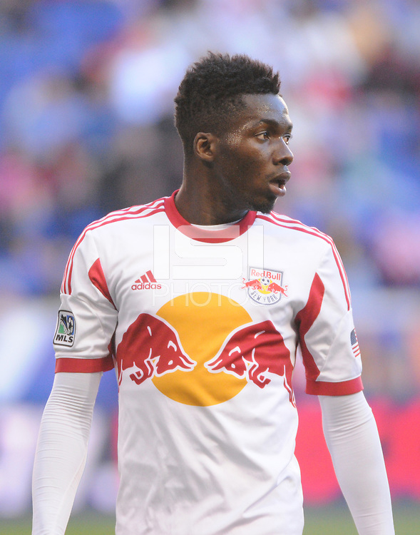 HARRISON, NJ - Saturday, October 19, 2014: The New York Red Bulls lose to the Columbus Crew 3-1 at Red Bull Arena in regular season MLS play.