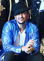 Peter Andre at a photocall for his new role in Thriller LIve at the Lyric Theatre, London on December 10th 2019<br />
