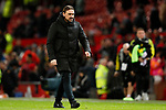 Norwich City manager Daniel Farke during the Premier League match at Old Trafford, Manchester. Picture date: 11th January 2020. Picture credit should read: James Wilson/Sportimage