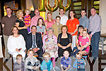 Julia McGillicuddy Clohane, Iron Mills, Killarney seated centre who celebrated her 100th birthday with her family and friends in the Brehon Hotel Killarney on Saturday night....