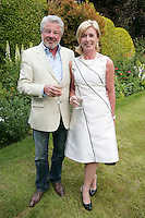22/6/10 John McColgan and Moya Doherty at the British Amabassador's residence at Glencairn House in Sandyford, Dublin. Arthur Carron/Collins