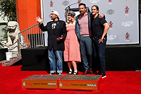 LOS ANGELES - OCT 14:  Kevin Smith, Harley Quinn Smith, Ben Affleck, Jason Mewes at the Kevin Smith And Jason Mewes Hand And Footprint Ceremony at the TCL Chinese Theater on October 14, 2019 in Los Angeles, CA