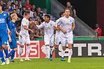 10.08.2019, wohninvest Weserstadion, Bremen, GER, DFB-Pokal, 1. Runde, SV Atlas Delmenhorst vs SV Werder Bremen<br /> <br /> DFB REGULATIONS PROHIBIT ANY USE OF PHOTOGRAPHS AS IMAGE SEQUENCES AND/OR QUASI-VIDEO.<br /> <br /> im Bild / picture shows<br /> <br /> 0:1 Werder durch Yuya Osako (Werder Bremen #08) vorlage Theodor Gebre Selassie (Werder Bremen #23)<br /> Foto © nordphoto / Kokenge