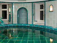 Türkisches Bad, Schloss Wartegg in Rohrschacherberg, Kanton Thurgau , Schweiz<br /> Turkish bath, castle Wartegg, Canton Thurgau, Switzerland