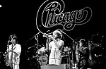 Chicago 1977 Walter Parazaider Lee Loughnane Pete Cetera<br /> &copy; Chris Walter