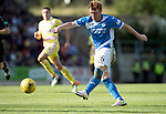 St Johnstone v Hearts…17.09.16.. McDiarmid Park  SPFL<br />Liam Craig's shot is mishandled by Hearts keeper Jack Hamilton who just managed to stop it going over the line<br />Picture by Graeme Hart.<br />Copyright Perthshire Picture Agency<br />Tel: 01738 623350  Mobile: 07990 594431