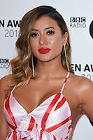 Kaz Crossley<br /> arriving for the Radio 1 Teen Awards 2018 at Wembley Stadium, London<br /> <br /> ©Ash Knotek  D3454  21/10/2018