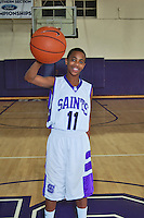 St. Anthony High School Basketball Team photo.