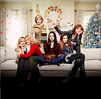 A Bad Moms Christmas (2017) <br /> Promotional art with Mila Kunis, Kristen Bell, Kathryn Hahn, Susan Sarandon, Christine Baranski &amp; Cheryl Hines  <br /> *Filmstill - Editorial Use Only*<br /> CAP/KFS<br /> Image supplied by Capital Pictures