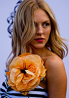 HALLANDALE BEACH, FL - JANUARY 27: Shea Marie on the Blue Carpet on Pegasus World Cup Invitational Day at Gulfstream Park Race Track on January 27, 2018 in Hallandale Beach, Florida. (Photo by Scott Serio/Eclipse Sportswire/Getty Images)