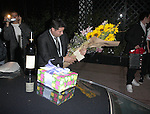 AbilityFilms@yahoo.com 805-427-3519.www.AbilityFilms.com.3-12-08  Eva LOngoria celebrating her birthday .at her new restaurant beso in hollywood .The Rapper Eve is scene walking with her