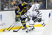Jesse Todd (Merrimack - 16), Damon Kipp (UNH - 4), Phil DeSimone (UNH - 39) - The Merrimack College Warriors defeated the University of New Hampshire Wildcats 4-1 (EN) in their Hockey East Semi-Final on Friday, March 18, 2011, at TD Garden in Boston, Massachusetts.