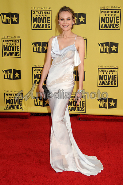 15 January 2010 - Hollywood, California - Diane Kruger. 15th Annual Critics' Choice Movie Awards - Arrivals held at the Hollywood Palladium. Photo Credit: Byron Purvis/AdMedia