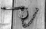 Old pad lock Colonial Williamsburg Virginia, pad lock, Williamsburg, lock, Fine Art Photography by Ron Bennett, Fine Art, Fine Art photography, Art Photography, Copyright RonBennettPhotography.com ©