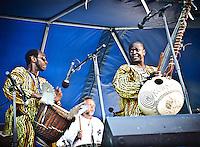 Kora Konnection @ French Quarter Festival 2011.