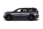 Car driver side profile view of a 2018 Dodge Durango R/T 5 Door SUV