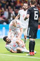 Spain Diego Costa during friendly match between Spain and Argentina at Wanda Metropolitano in Madrid , Spain. March 27, 2018.  *** Local Caption *** © pixathlon<br /> Contact: +49-40-22 63 02 60 , info@pixathlon.de