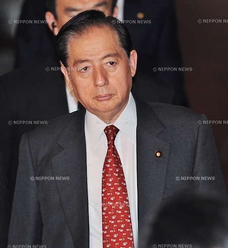 February 5, 2014, Tokyo, Japan - Japan's Minister of Land, Infrastructure, Transport and Tourism Akihiro Ota attends an upper house budget committee session at the parliament in Tokyo, Japan on February 5, 2014. (Photo by AFLO)